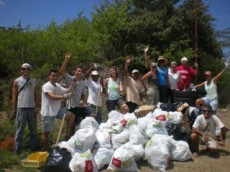 clean up caracasbaai sept 2010