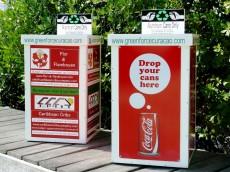aluminium recycle bins